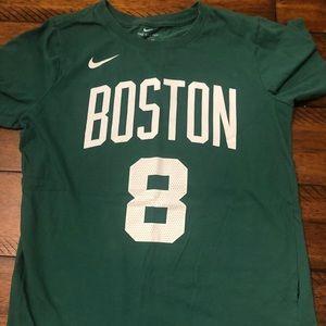 Nike Boston Celtics Boys Dri Fit T-shirt
